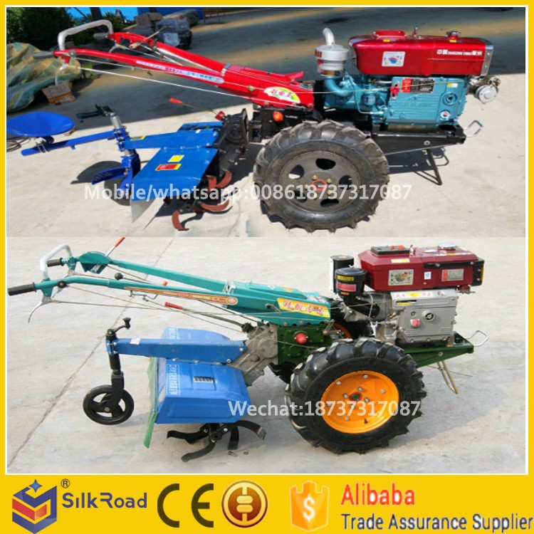 Mini Multifunction Rotary Cultivator 15hp Power Tiller