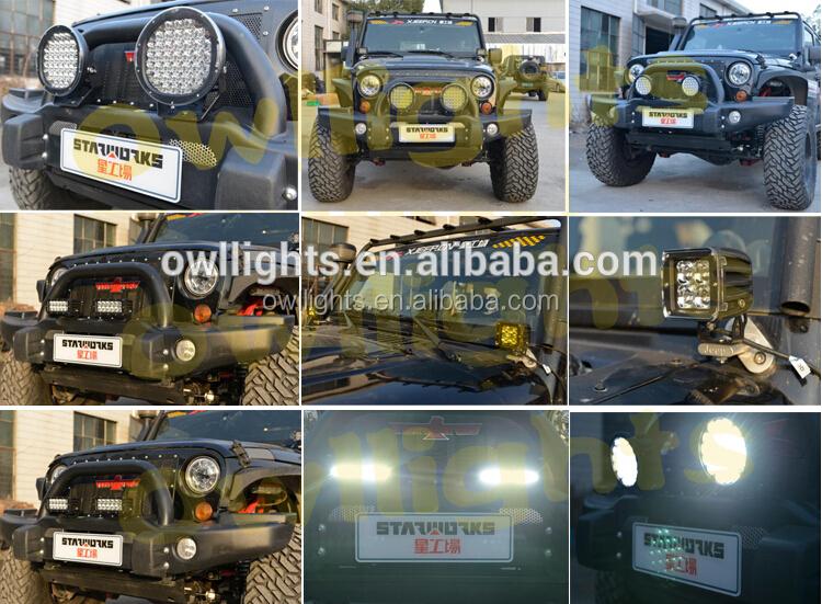 Car Parts Accessories,225w 185w Led Lighting,24v 12v Led C R E E ...