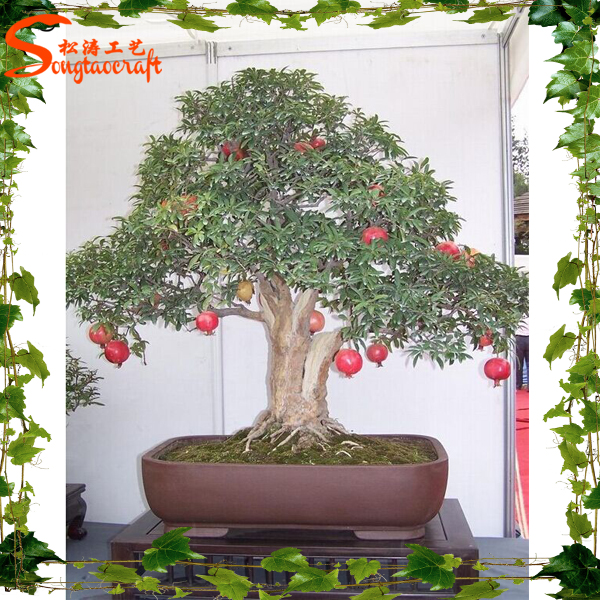 Artificial Plants And Trees China Supplier Artificial Red Pomegranate Bonsai Tree Buy Bonsai Tree Plant Plastic Tree Make Artificial Bonsai Tree Artificial Bonsai Trees For Sale Product On Alibaba Com