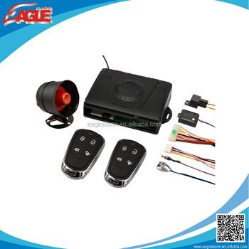 China Eg-886 Smart Wolf Car Alarm System Manufacturer