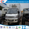 small freezer truck mini refregeration truck 1 ton 2tons mini beer van truck for sale