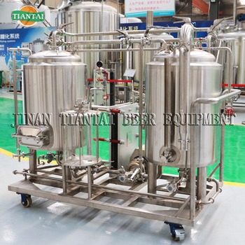50L integrated mini beer making machine for homebrewing
