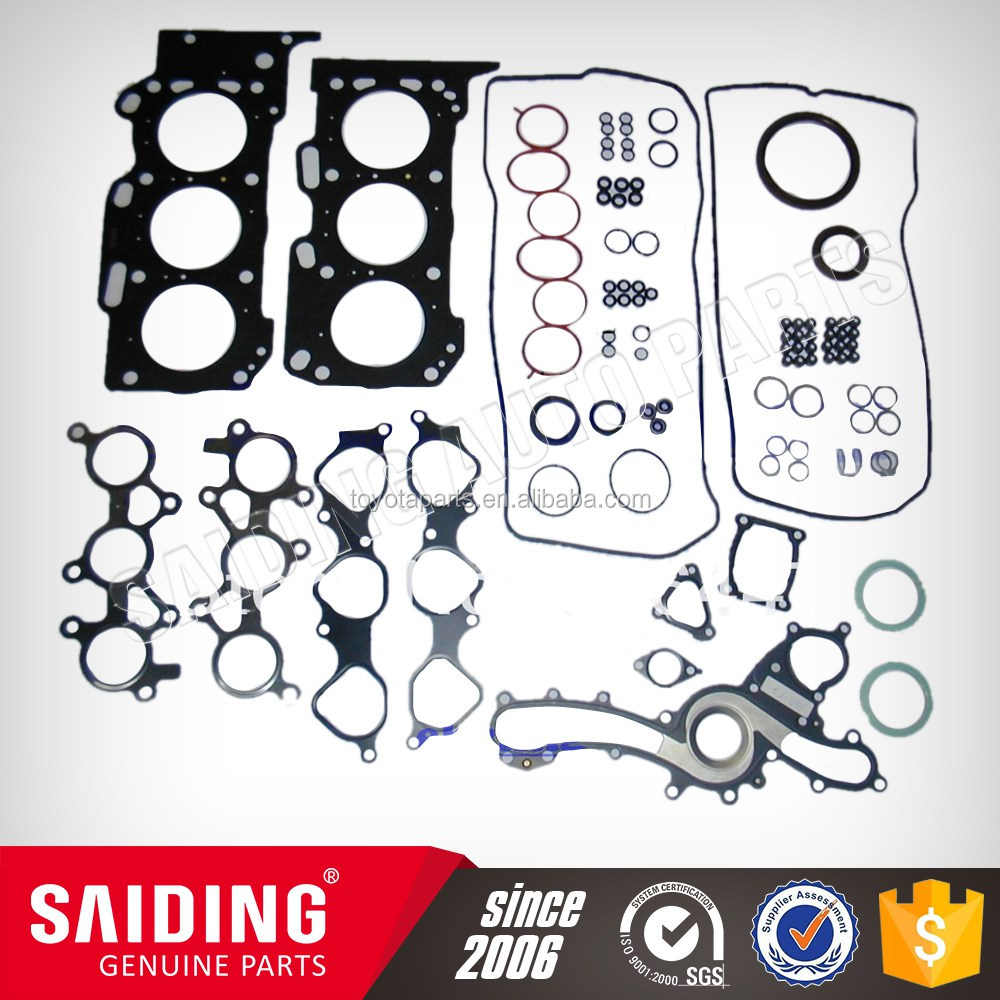 04111-0D520 Toyota spare parts Engine Parts Cylinder Head Gasket Set for Toyota COROLLA ZZE150