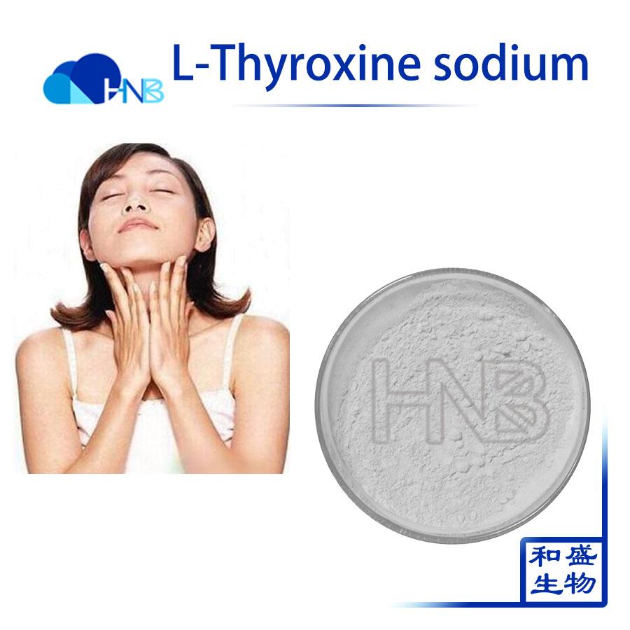 Levothyroxine Sodium L Thyroxine Sodium Raw Powder Cas 55 06 1