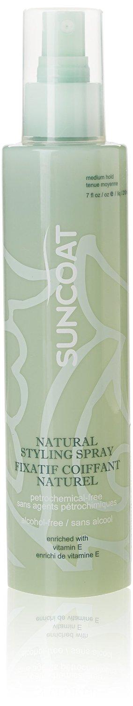 SUNCOAT PRODUCTS INC. Sugar-Based Natural Hair Styling Spray Fragrance-Free (7 fl. oz.)