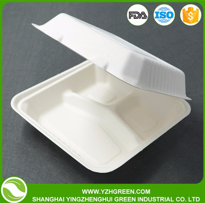 Food Grade Biodegradable Take away Food Box