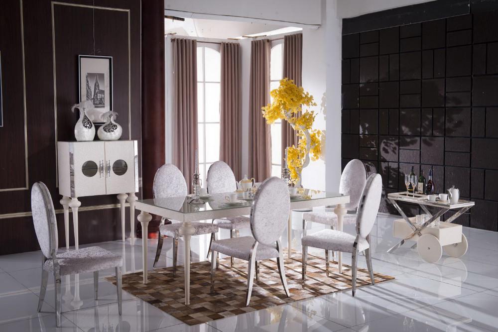 modernen glas-esstisch 6 stühle gesetzt/modernen esstisch stühle, Esstisch ideennn