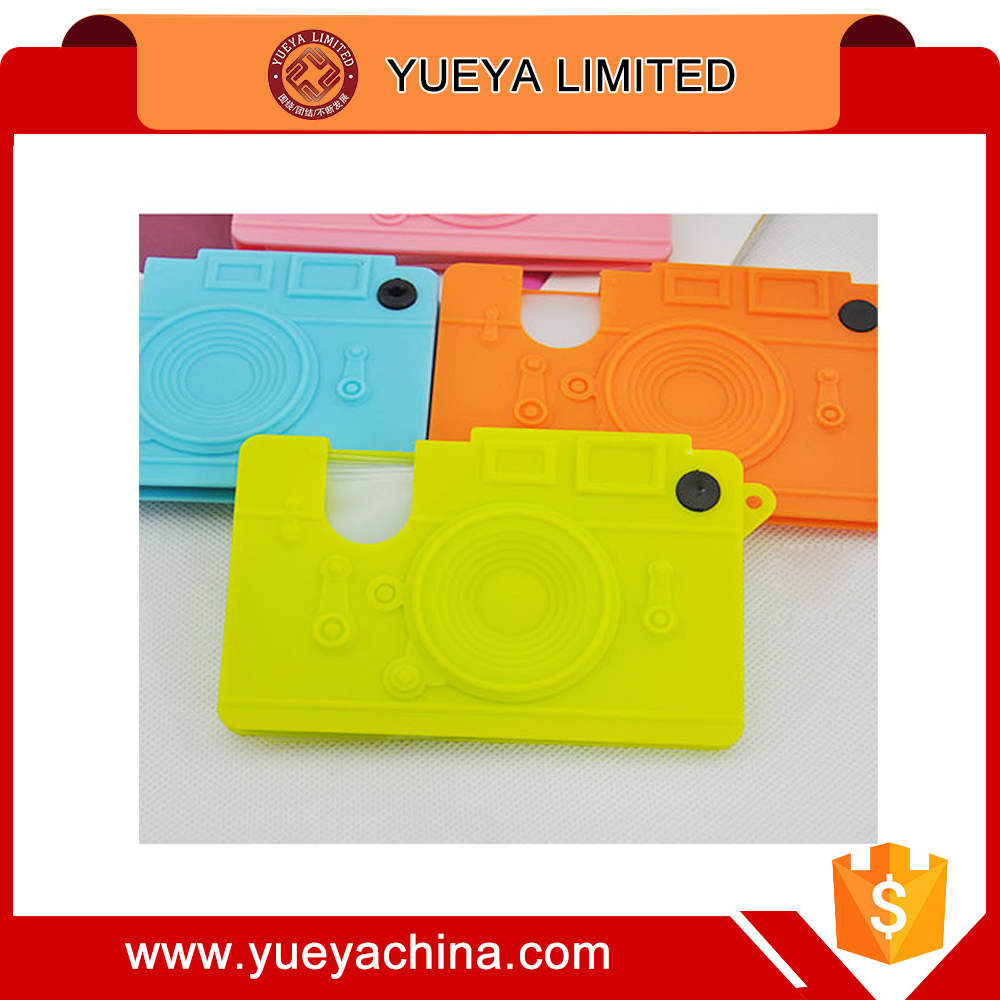 candy colors camera designer silicone card holder cards storage purse
