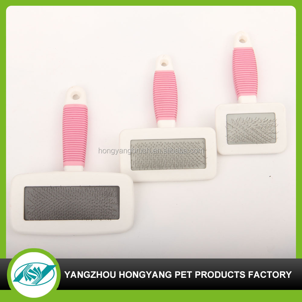 cat or dog plastic hair removal brush in pet