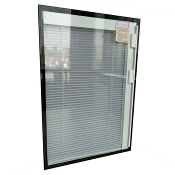 External magnetic Aluminum Venetian blinds in double glazing glass with louvers