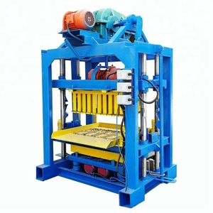 guangzhou QT4-40 list scale industries QT4-40 widely used concrete hollow block brick making machine for sale in usa