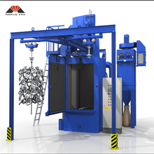 MAYFLAY Hot Sale Hook Type Shot Blasting Machine For Metal Parts