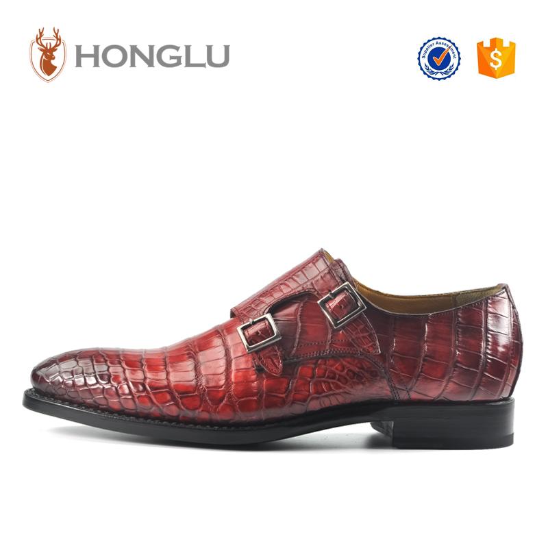 Shoes Toe Dress Buckle Pointed Fashion Design Men' Leather wq0g06vx