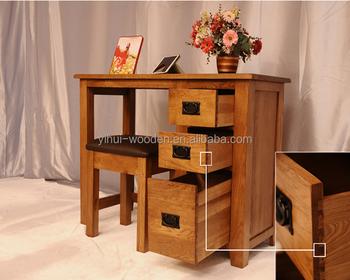 Moderne design meubelen massief houten studie bureau grenen studie