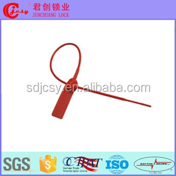 Plastic Ten-Lok Strap Seal