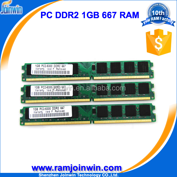 100% full compatible ddr2 1gb pc5300 ram memory for desktop