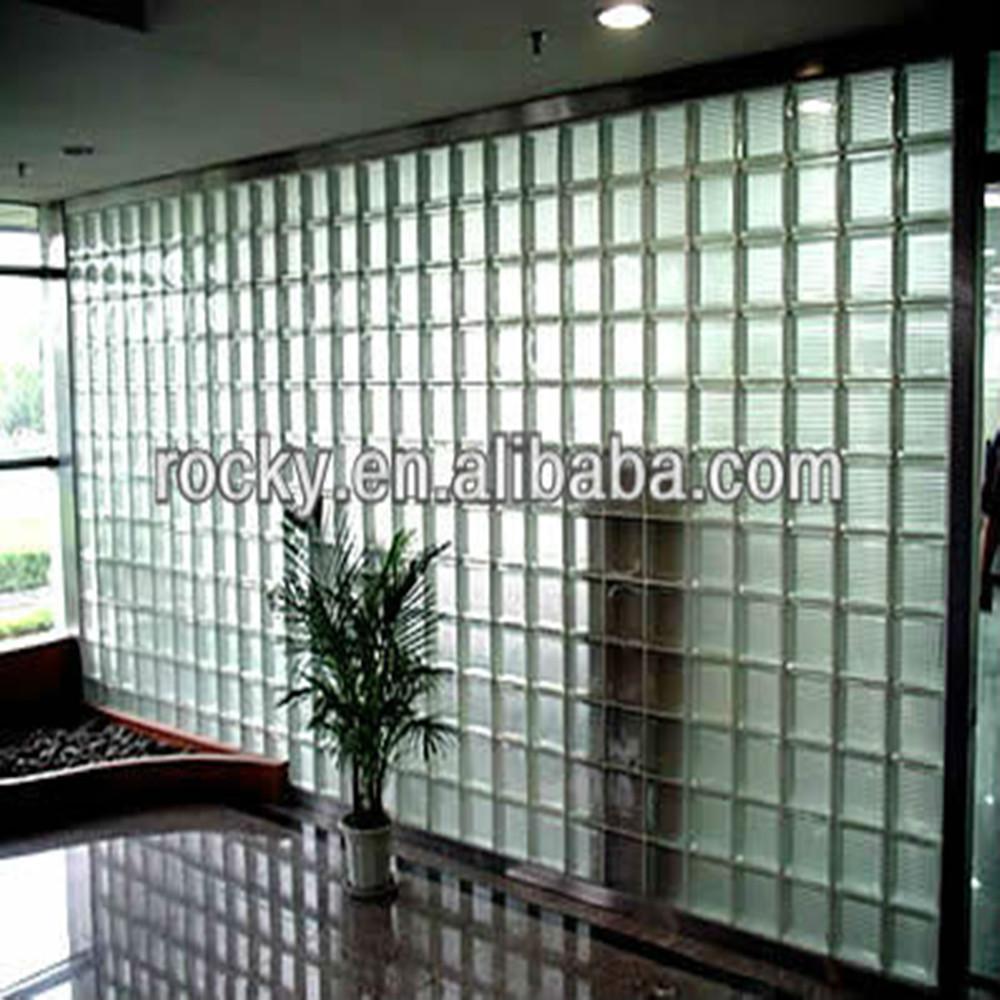 Qingdao rotsachtige hoge kwaliteit lage prijs interieur en - Mur en verre interieur ...