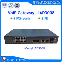Analog telephone to IP phone SIP Gateway with 8FXS ports