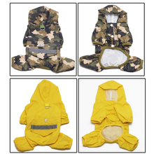 Fashion Design Wholesale Christmas Pet Dog Raincoat For Dogs With Legs