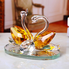 Crystal Wedding Return Gift Giftgiftgift Return Gifts For Wedding 2019 New Loving Creative K9 Crystal Swan Figurine Products For Wedding Favor Crystal Return Gift