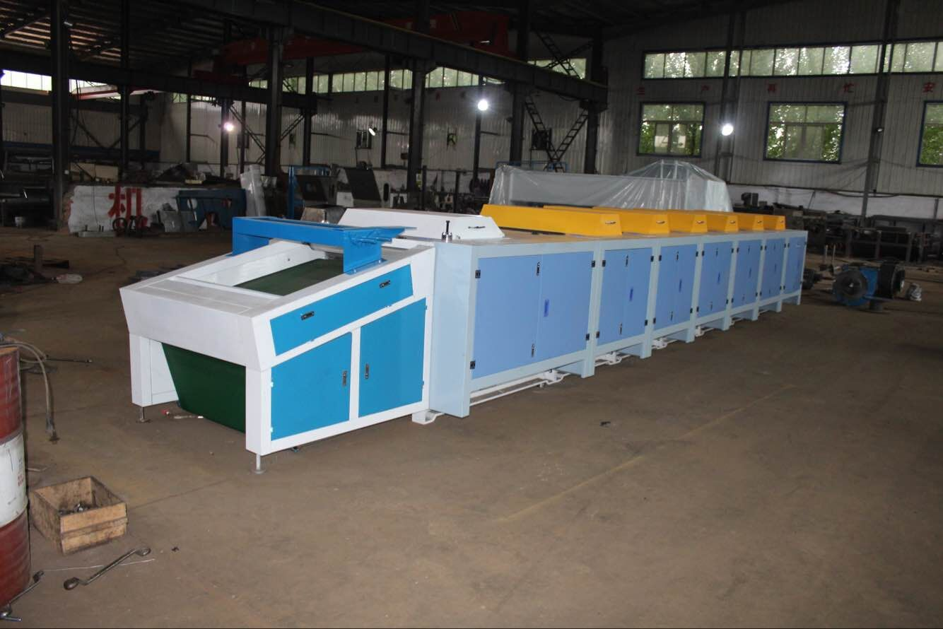 High output six rollers textile cotton yarn waste recycling machine for  spinning mills, View Polyester fabric recycling machine, Product Details  from