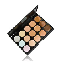 1 PCS Professional 15 Color Camouflage Facial Concealer Palettes Neutral Makeup Eyeshadow Cosmetic Drop Shipping