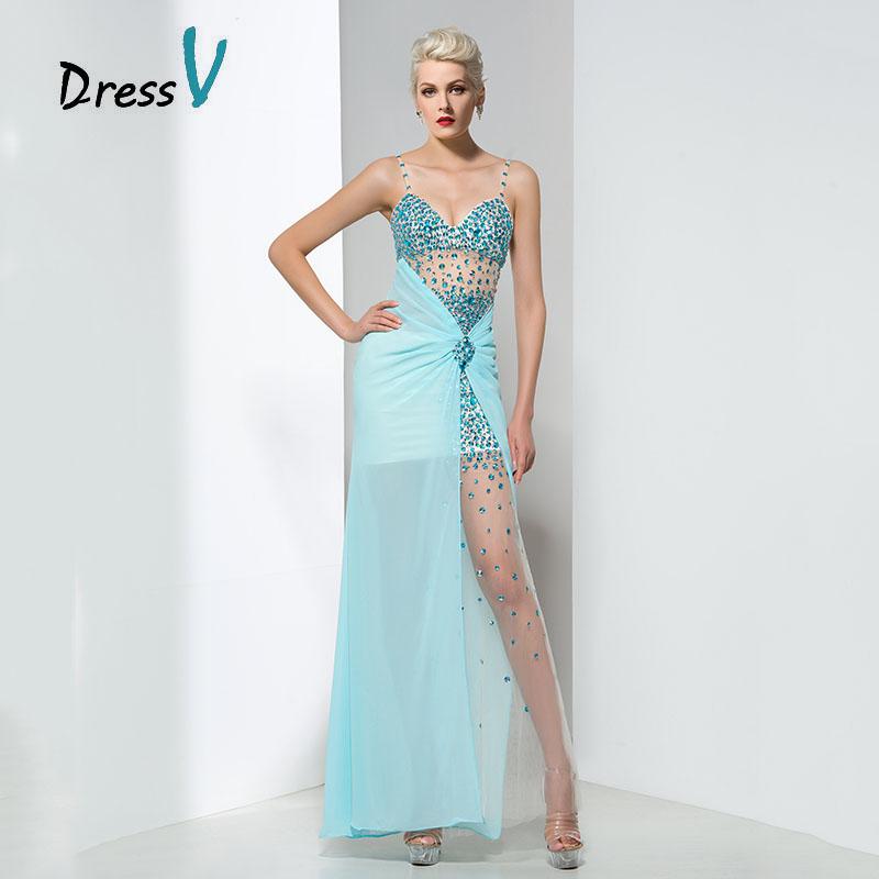 Sky Blue Prom Dresses 49