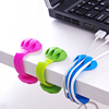 Earphone Cord Mobile Phone Fancy Binder silicone Cable Holder Clip
