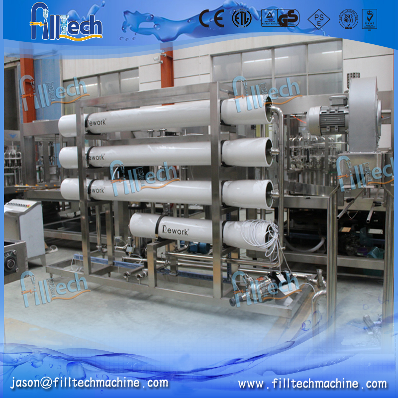 High efficiency full automatic pure water system drinking water filter equipment