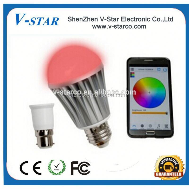 new products on china market smart light support ios/android made in china, Bluetooth Led Light Bulb, Bluetooth Led Bulb