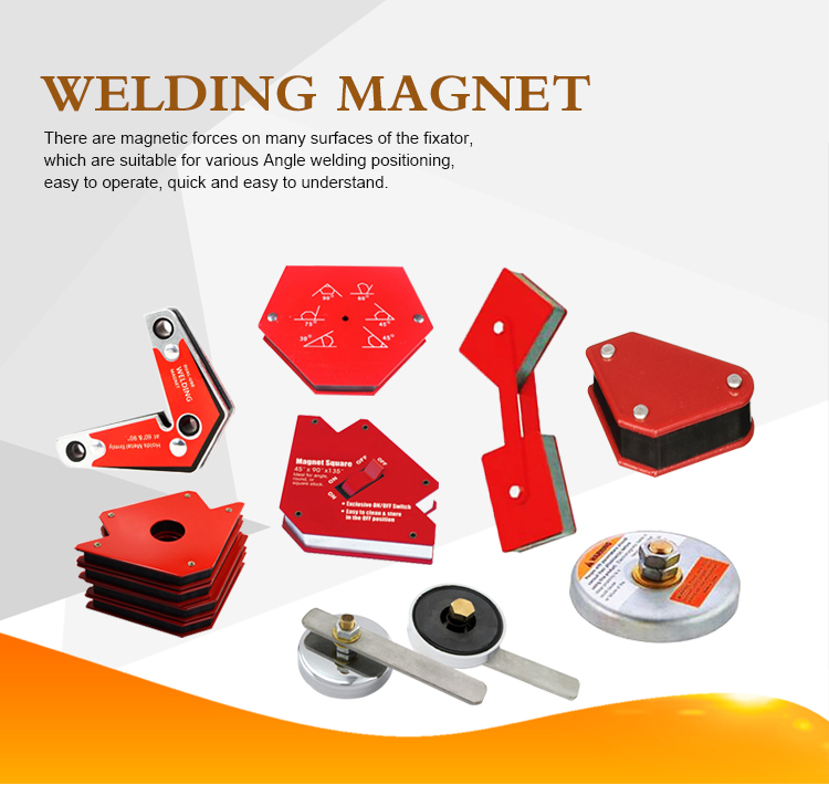 Magnetic Square Angle Ground Welding Holder For Welding
