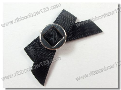 ribbon bows with metal slider
