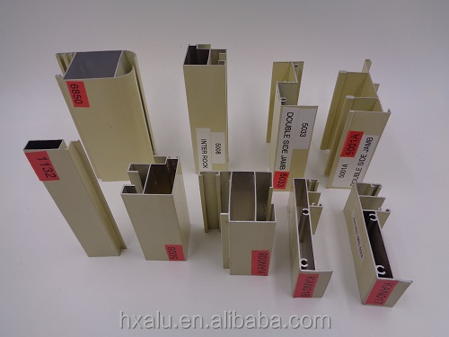 Aluminum Profile For Flex Face Light Box,Mullion
