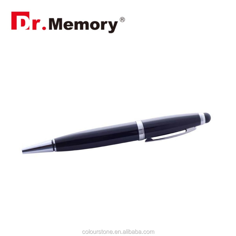 Dr.memory best selling 2 in 1 phone screen touch ball pen usb flash drive pen drive 2.0 4GB 8GB 16GB USB stick for promo gift