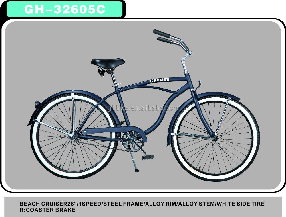 26 Inch Schwinn Beach Cruiser Bikes Classical Cruiser Bicycles Bicicleta -  Buy Schwinn Beach Cruiser Bikes,Classical Cruiser Bicycles,Cruiser Bicycles