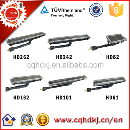 Industrial heating element for Gas Ovens, Furnace HD162
