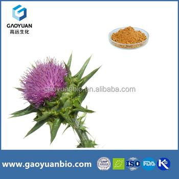 Pure natural Phospholipid 80% Silymarin Extract Powder