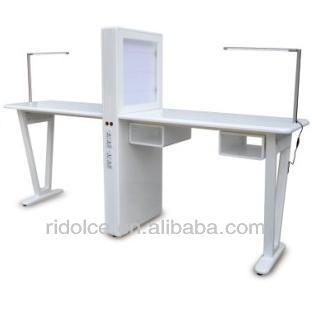 Nail Table Manicure Table Table Cosmetic Wooden White Nail Salon Equipment For Saletkn D105 Buy Nail Table Manicure Table Table Cosmetic Wooden White Used Nail Salon Equipment Product On Alibaba Com