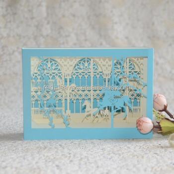 New Design 3d Effect Pop Up Birthday Card Gift For Children