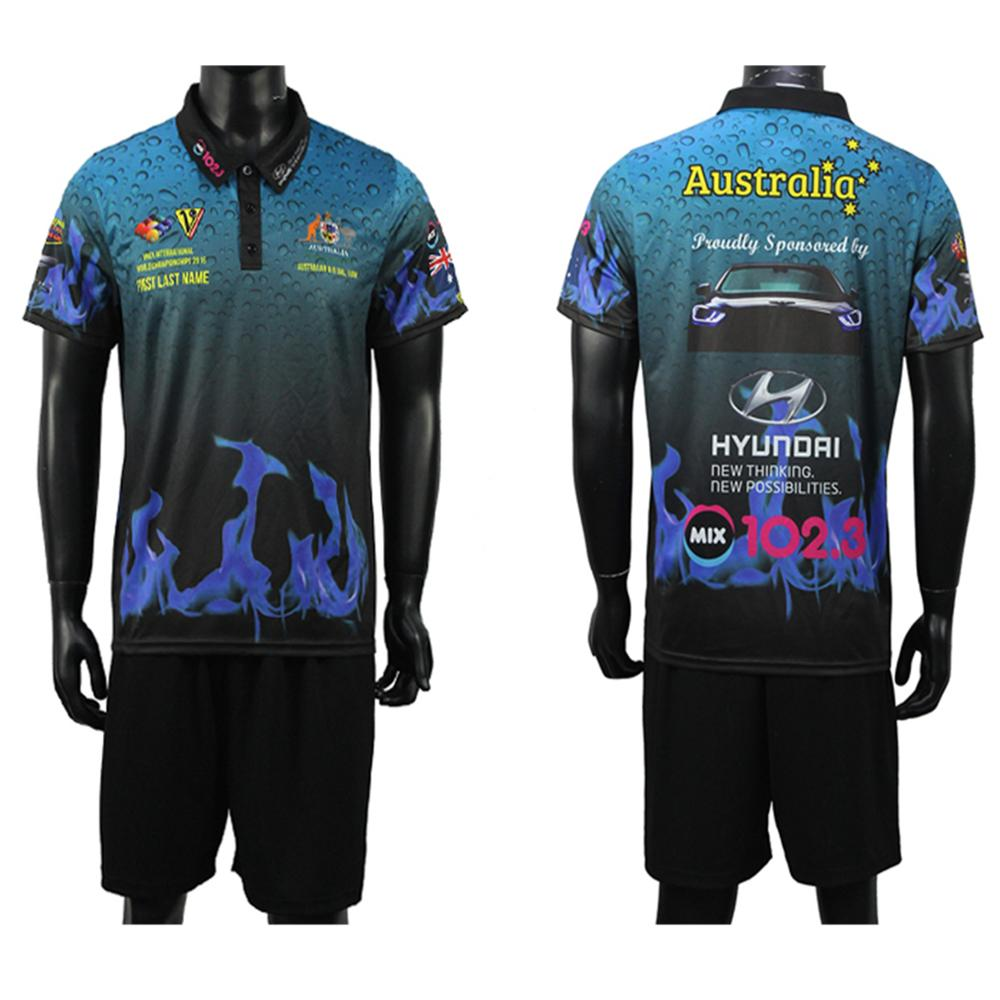 Customize New Design High Quality Soccer Team Sport Full Sublimation