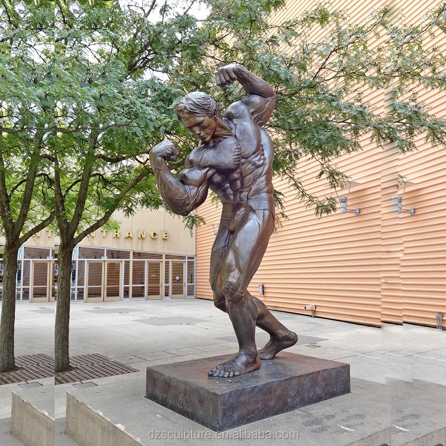 Bronze Foundry Memorial Sculpture Metal Craft Bodybuilding Arnold Statue -  Buy Bodybuilding Statue,Bodybuilding Sculptures,Bodybuilding Sculptures