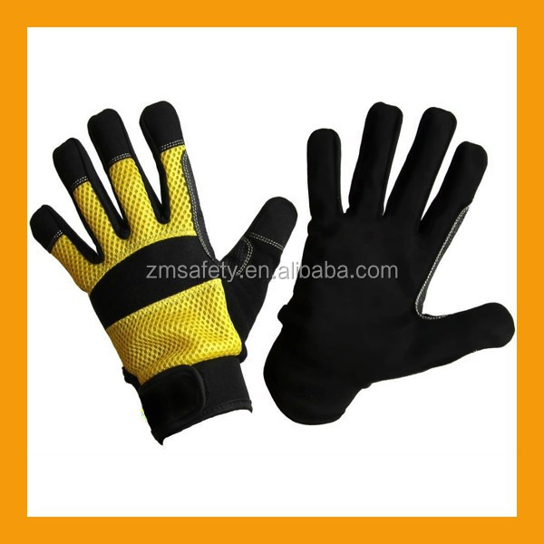 Breathable Mesh Safety Garden Tool Gloves