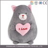 Anime talking plush toy cat with beard