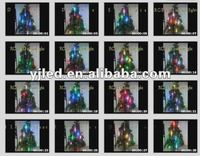 2012 Multicolor High brightness Energy Saving LED Chasing Christmas Twinkle String Lights