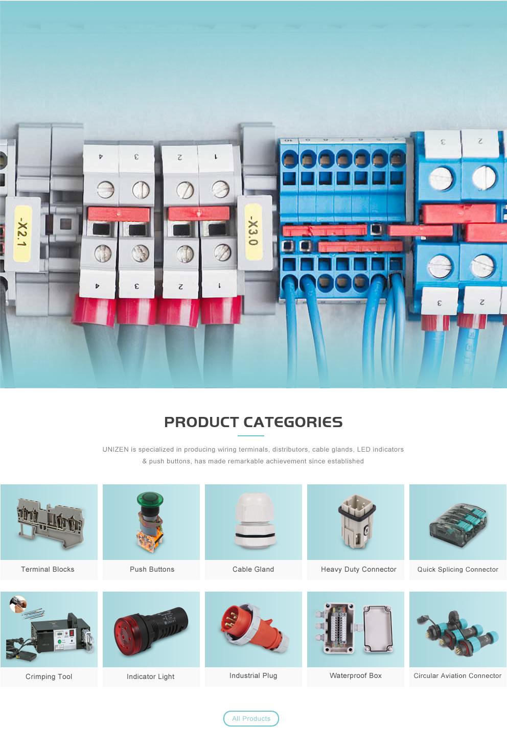 Unizen Electric (Shanghai) Co., Ltd. - Terminal Blocks,Cable Gland