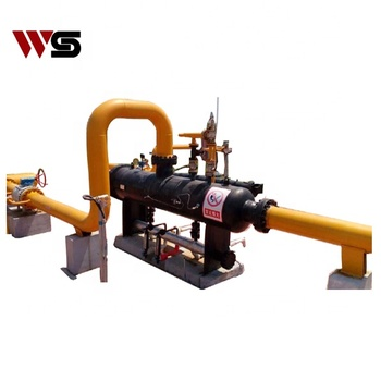industrial  Three phases  skid-mounted oil gas water three phase separator