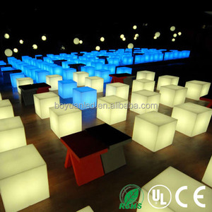 Popular Led Cube Chair Infrared Remote Controller Led Home Theater