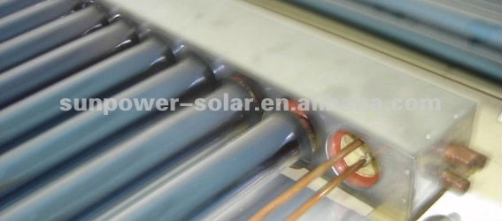 U shape pipe solar collector 150L efficiency quality solar water heater SABS passed hot products popular 2011