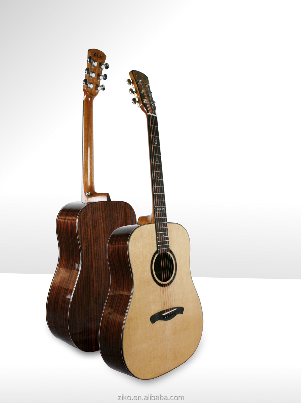 Spruce Body Material and Rosewood Back / Side Material acoustic guitar