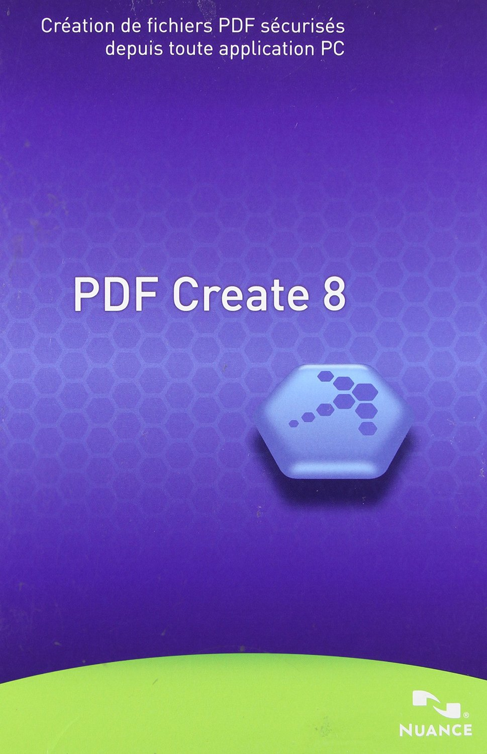 Nuance Pdf Create V.8.0 - Complete Product - 1 User - Pdf Application - Non-consignment Retail - Cd-rom - Pc - English French